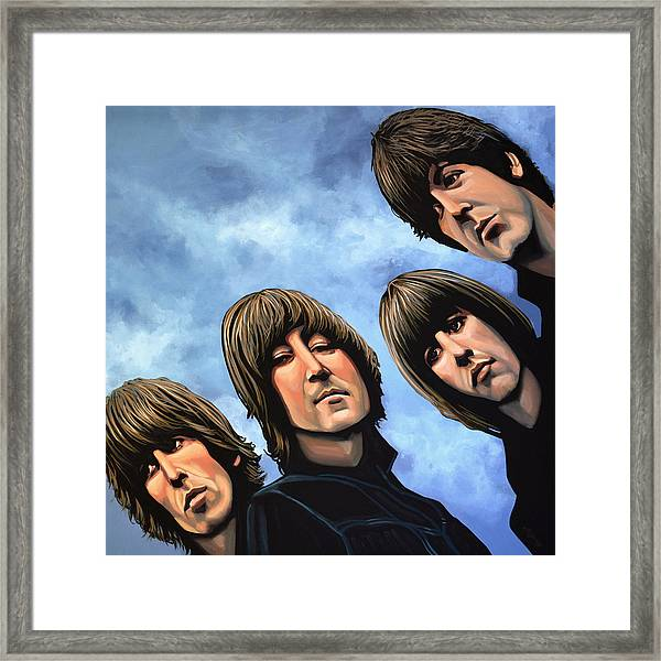 The Beatles Rubber Soul Framed Print