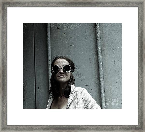 The Beauty Of Being Framed Print by Steven Digman