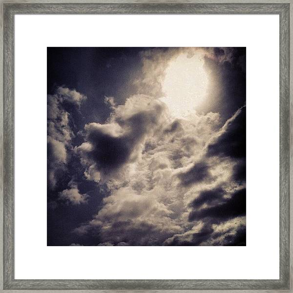 The Beauty Of Lies All Around Us.  Framed Print