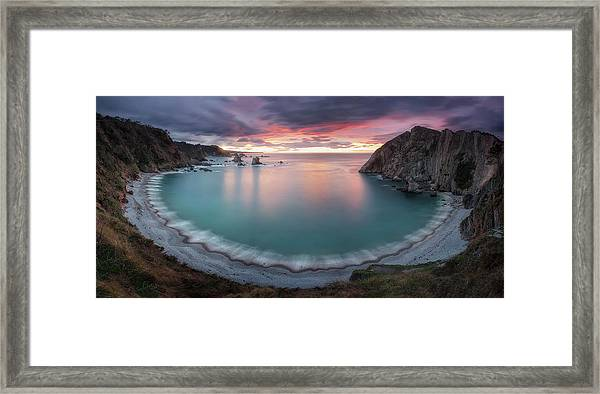 The Beauty Of The Silent Framed Print