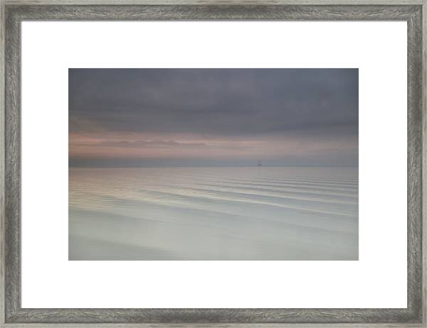 The Beauty Of The Wadden Sea Framed Print