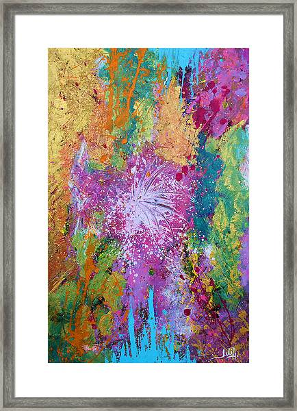 Contemporary Abstract  Framed Print
