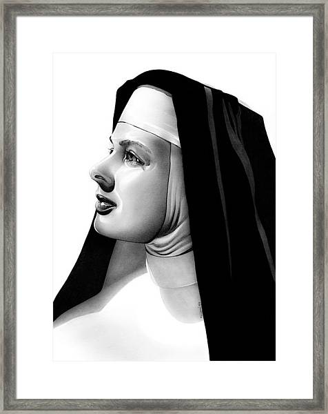 The Bell's Of St. Mary's Sister Mary Benedict Framed Print