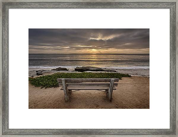 The Bench IIi Framed Print