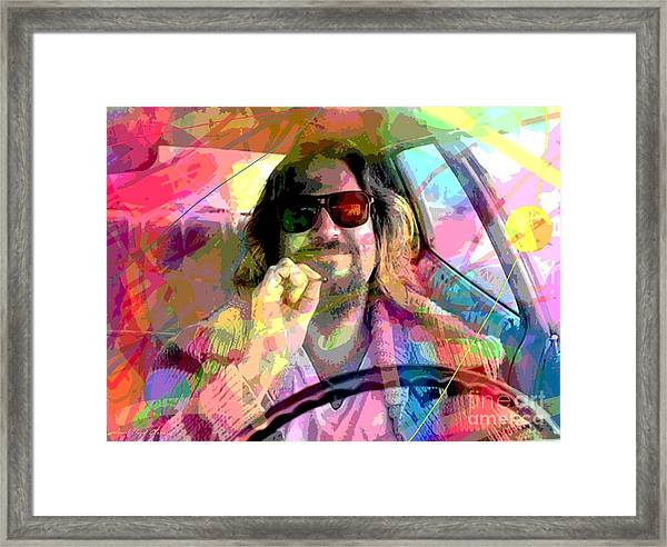 The Big Lebowski Framed Print by David Lloyd Glover