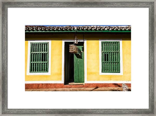 The Birdcage Framed Print