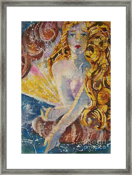 The Birth Of Aphrodite Framed Print