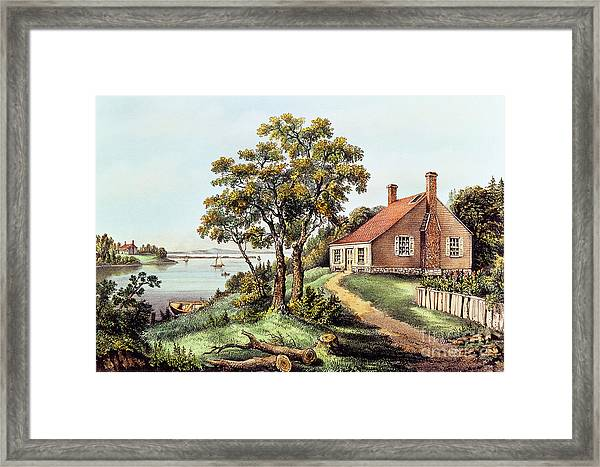 The Birthplace Of Washington At Bridges Creek Framed Print