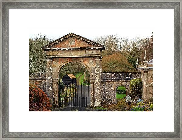 The Bishop's Gate Framed Print