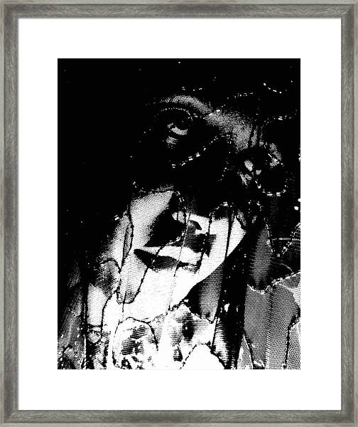The Black Madonna Framed Print