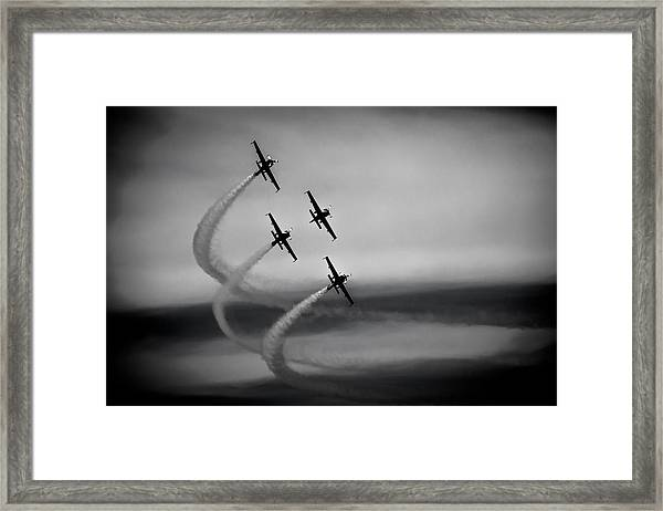 The Blades In Formation Sunderland Air Show 2014 Framed Print