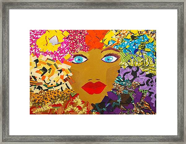 The Bluest Eyes Framed Print