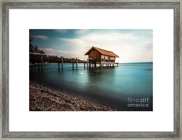 The Boats House II Framed Print