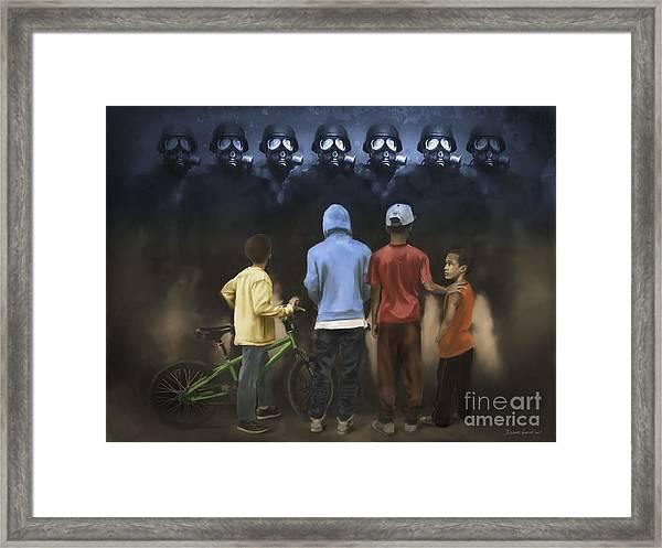 The Boogie Men Framed Print