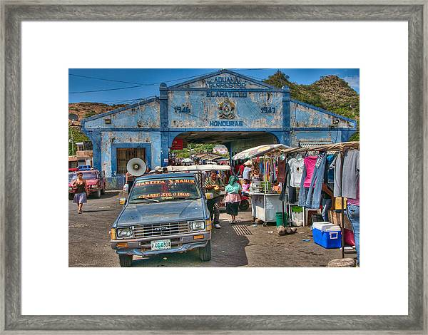 Framed Print featuring the photograph The Border Boogie by Britt Runyon