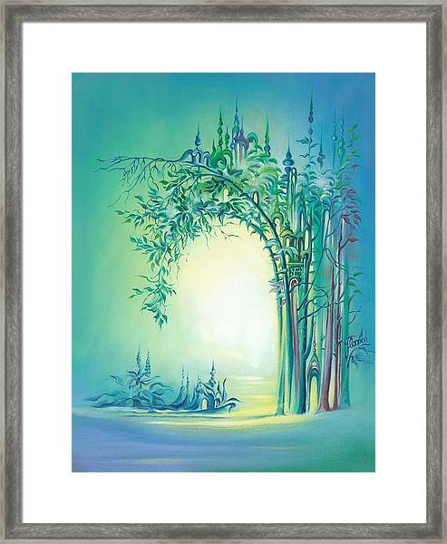 The Boundary Bush Framed Print