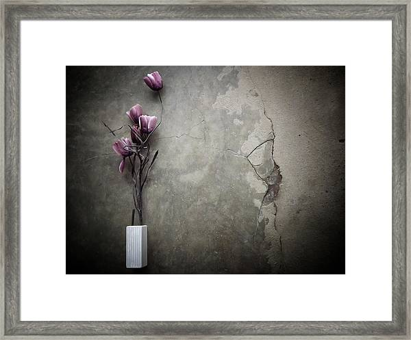 The Bouquet Framed Print