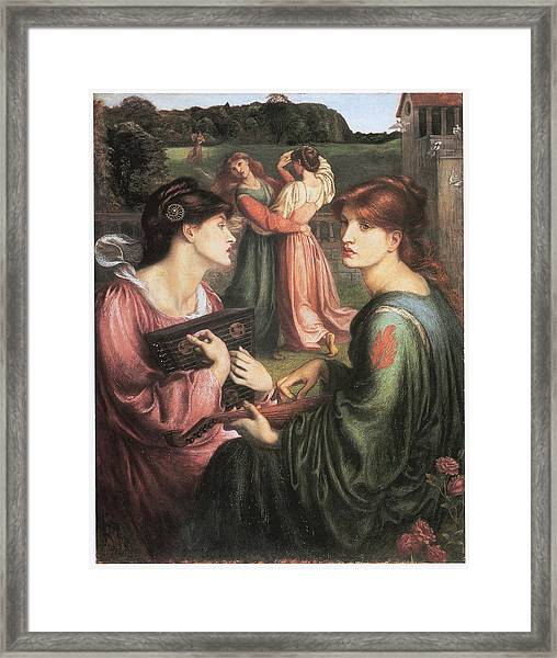 The Bower Meadow Framed Print
