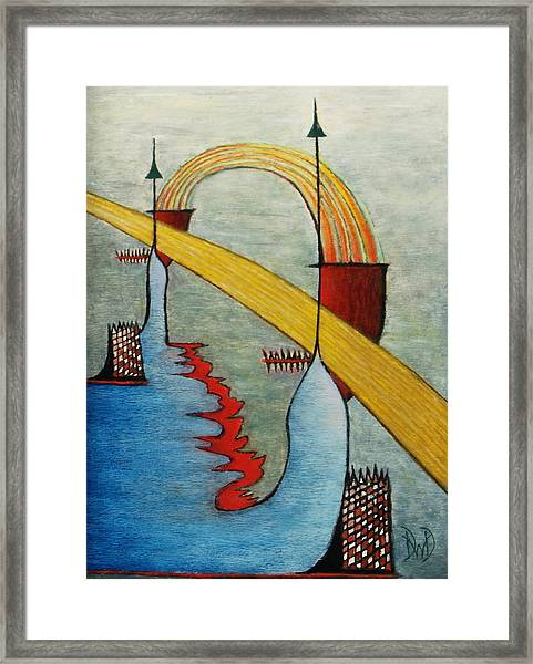 The Bridge Framed Print by David Douthat