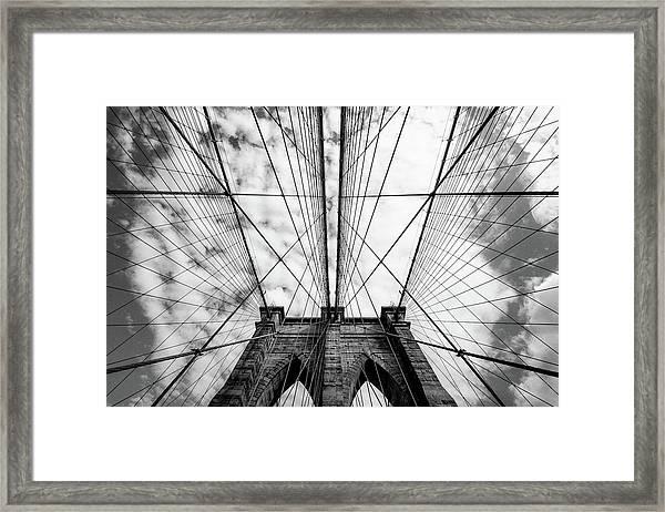 The Bridge Framed Print by Susumu Nihashi