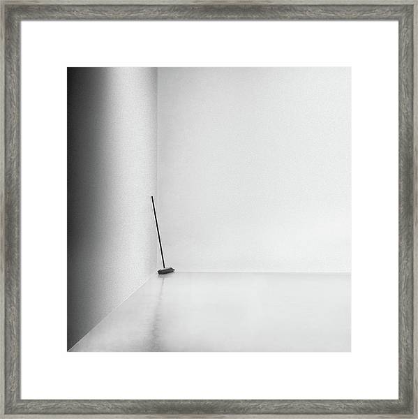 The Broom Framed Print by Gilbert Claes