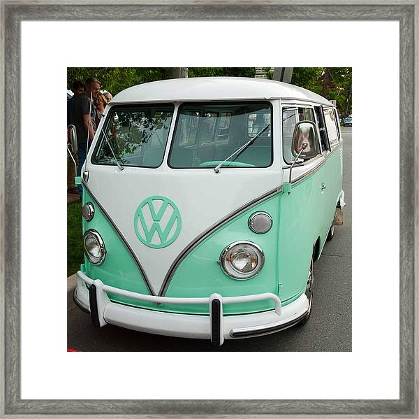 The Bus Framed Print