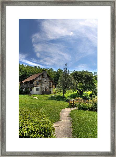 The Cabin Framed Print
