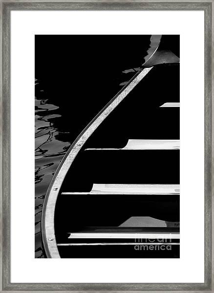 The Canoe Framed Print