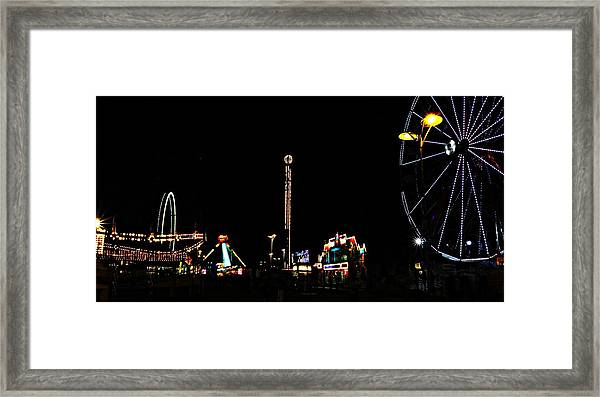 The Carnival Framed Print