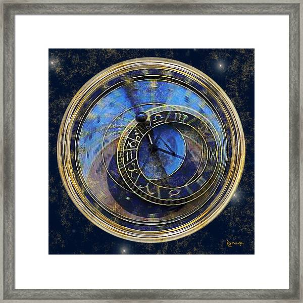 The Carousel Of Time Framed Print