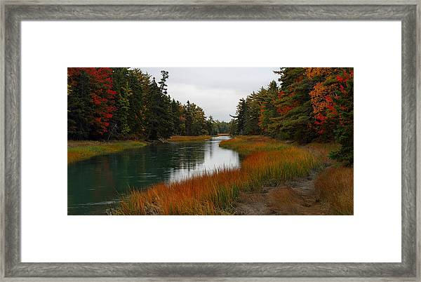 The Carrying Place Framed Print