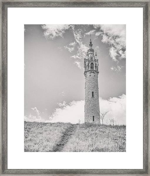 The Castle Tower Framed Print