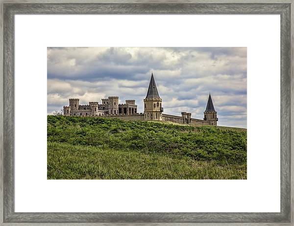 The Castle - Versailles Ky Framed Print