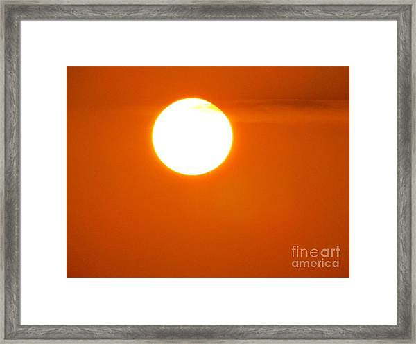 The Cause Framed Print