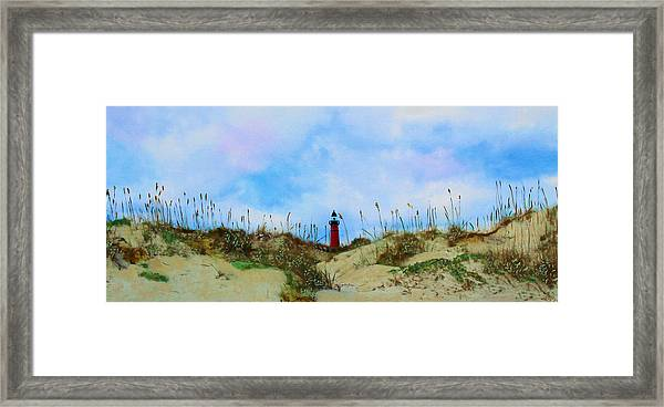 The Center Of Attention Framed Print