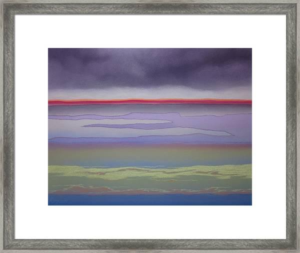 The Changing Skies Framed Print by Harvey Rogosin