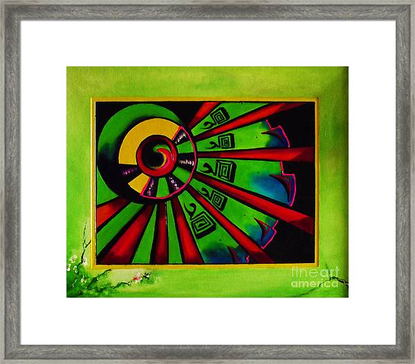 The Channel Framed Print by Donna Chaasadah