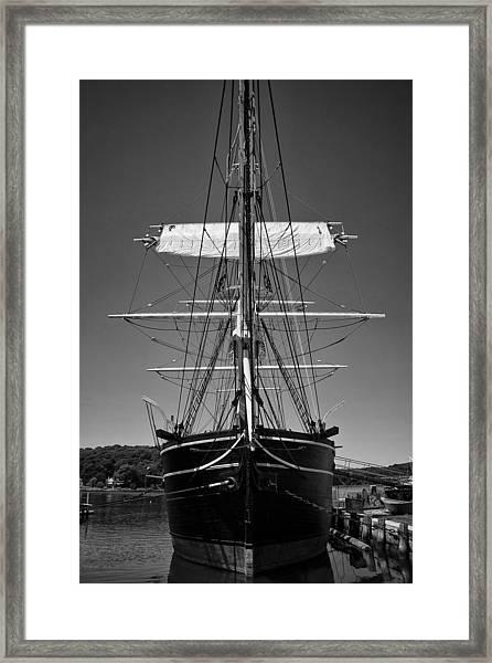 The Charles W. Morgan Framed Print