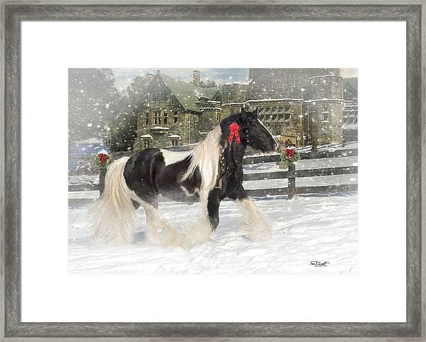 The Christmas Pony Framed Print