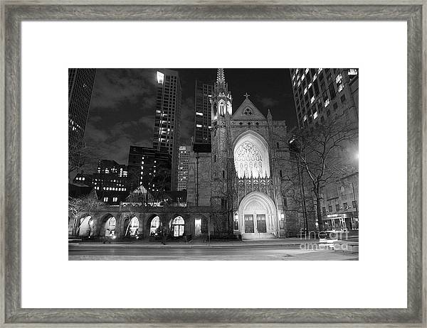 The Church Framed Print