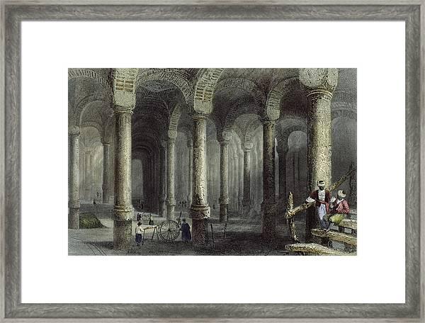 The Cistern Of Bin-veber-direg, Or The Framed Print