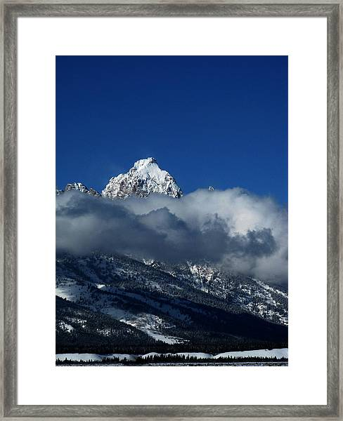 The Clearing Storm Framed Print