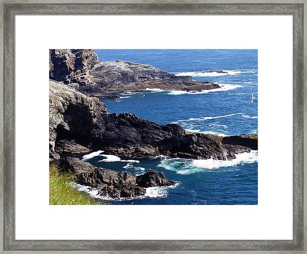 The Coast At Mizen Head Framed Print