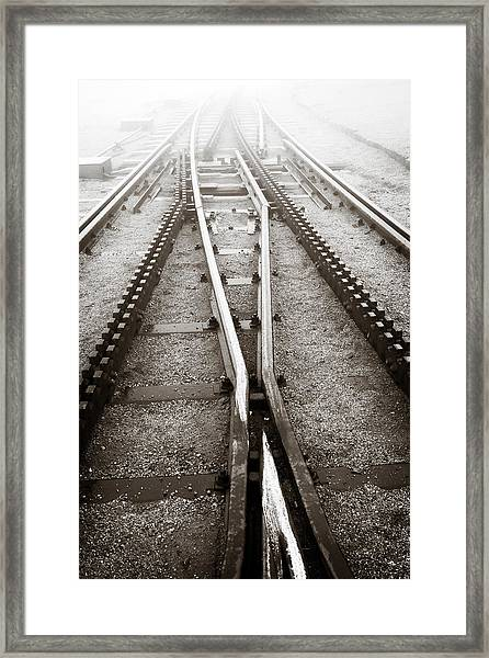 The Cog Railway Framed Print