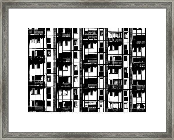 The Cold Outside Framed Print