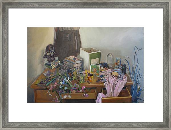 The Collection Framed Print by Jake Johnson