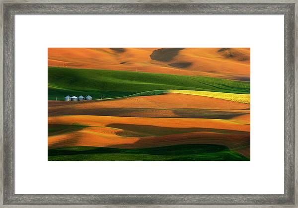 The Colorful Land Framed Print