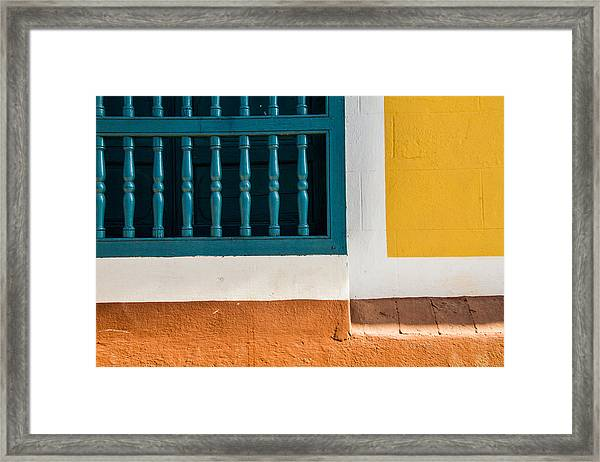 The Colors Framed Print