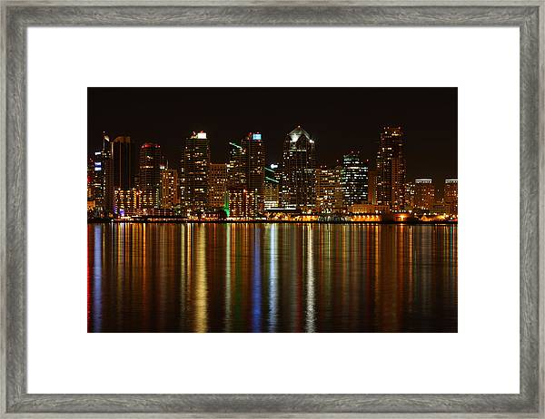 The Colors Of San Diego Framed Print