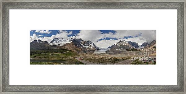 The Columbia Icefield Framed Print